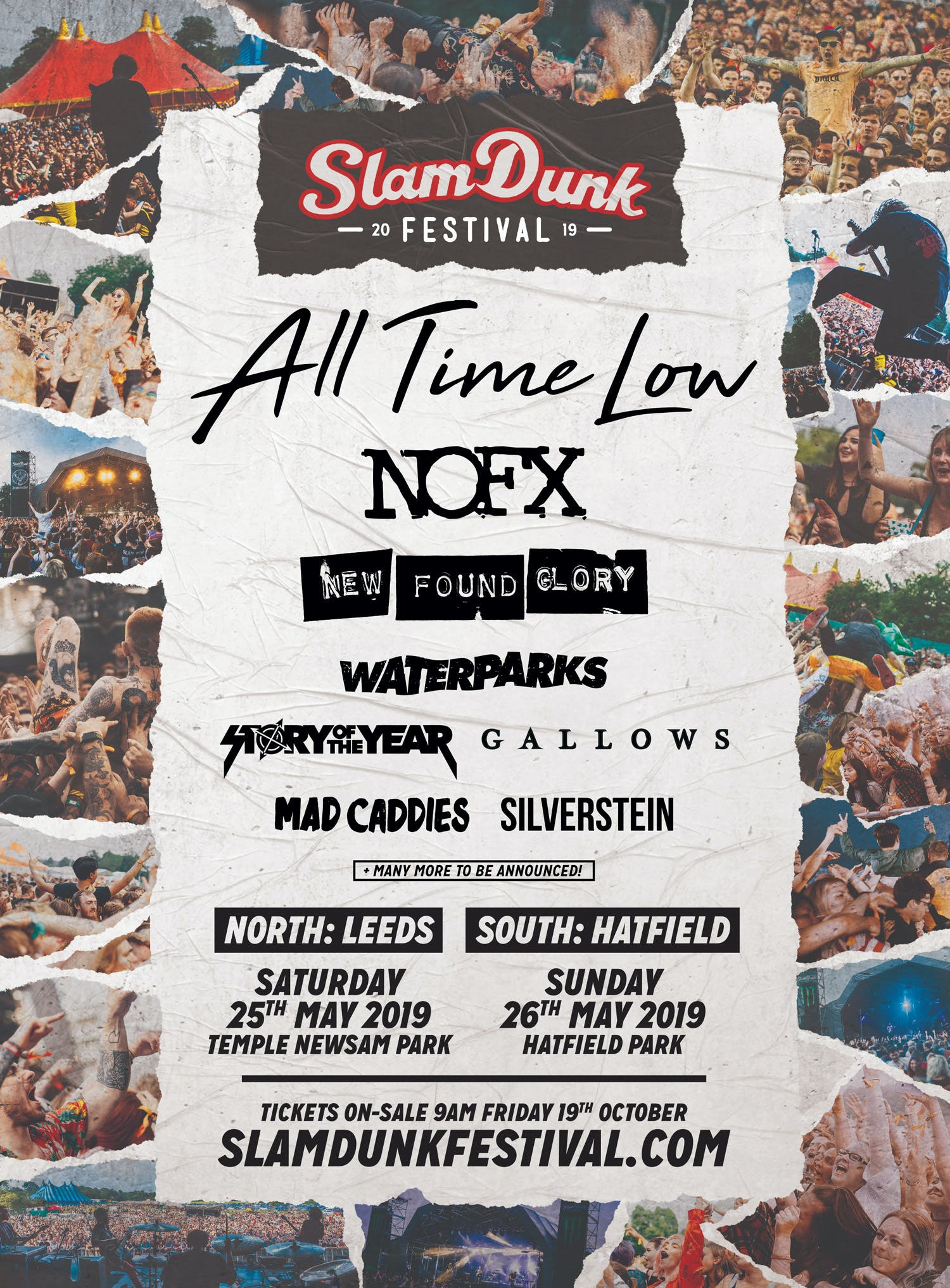 Slam Dunk 2019 Initial October Announcement