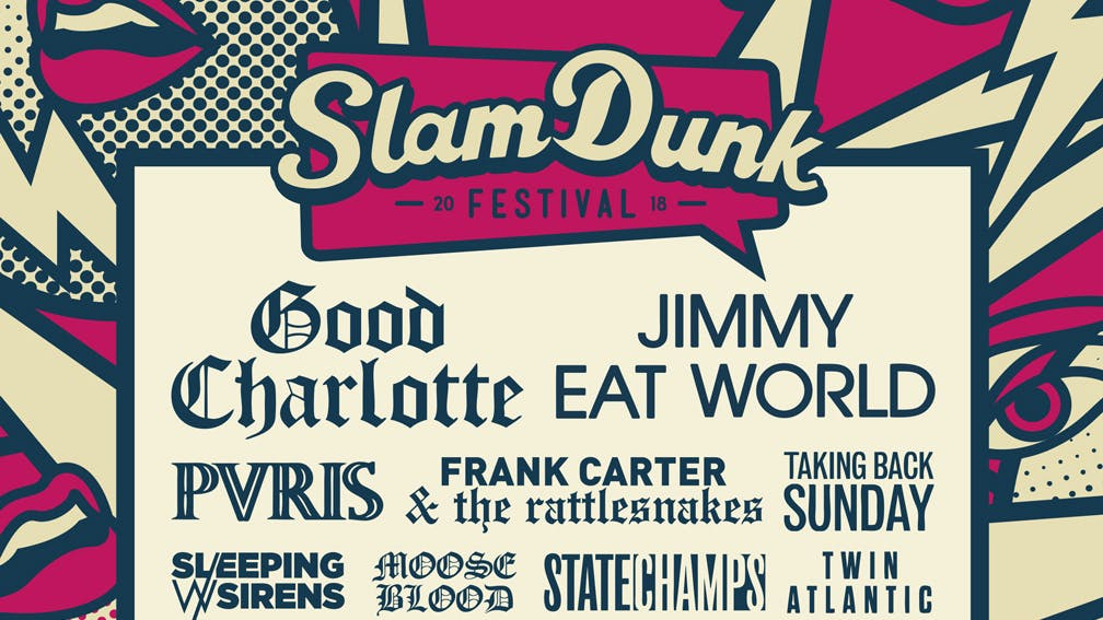 11 More Bands Have Been Added To The Slam Dunk Line-up