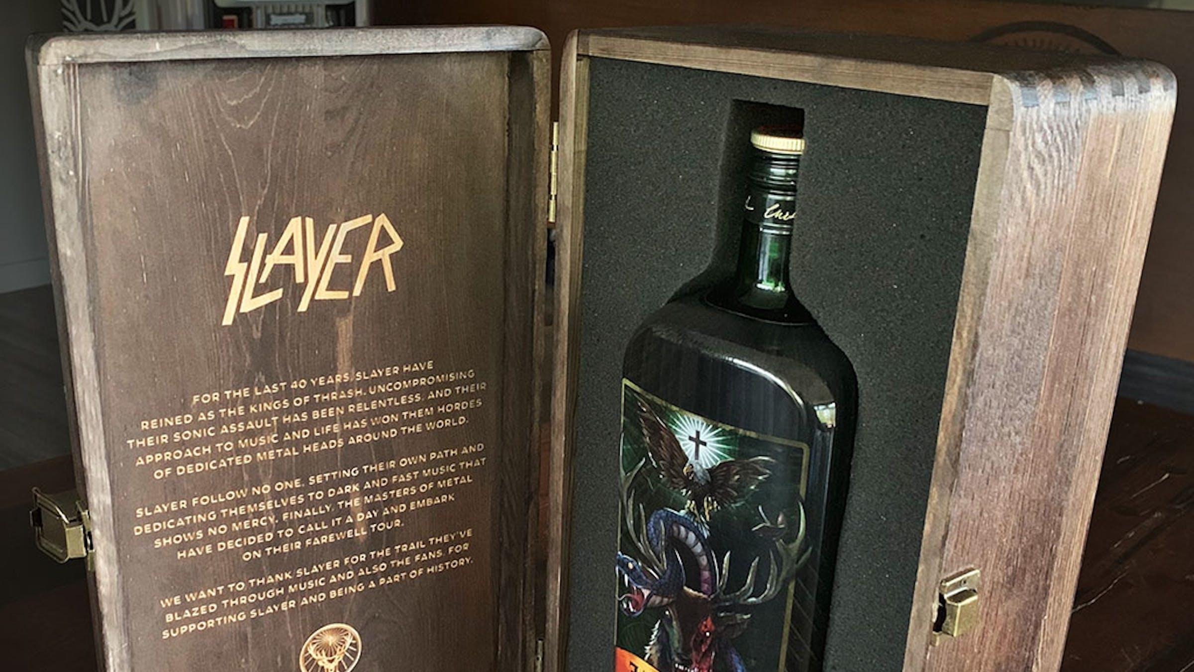 Slayer And Jägermeister Release Limited-Edition Bottle