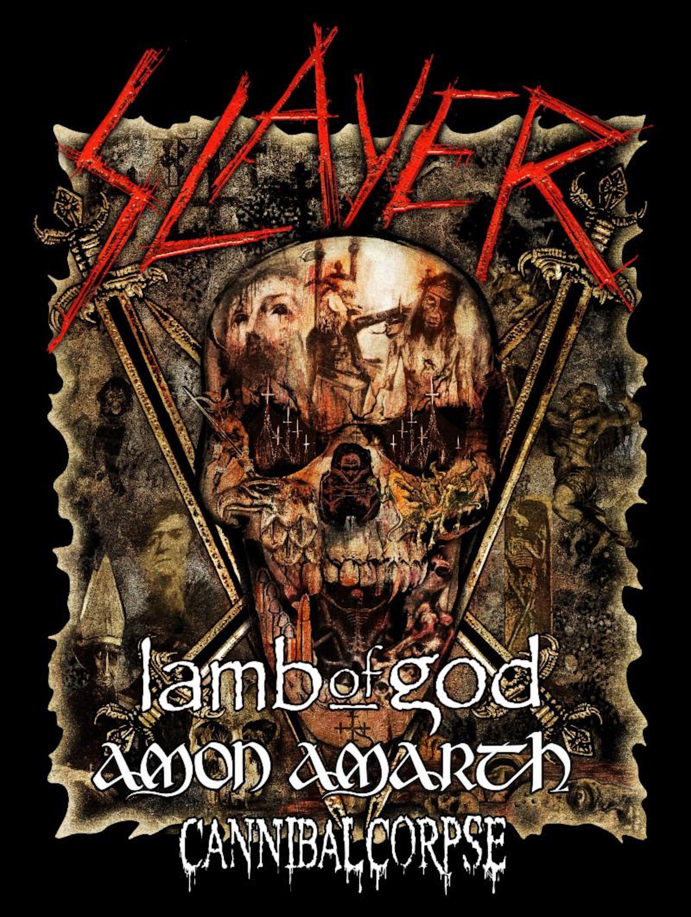 Slayer Tour Poster