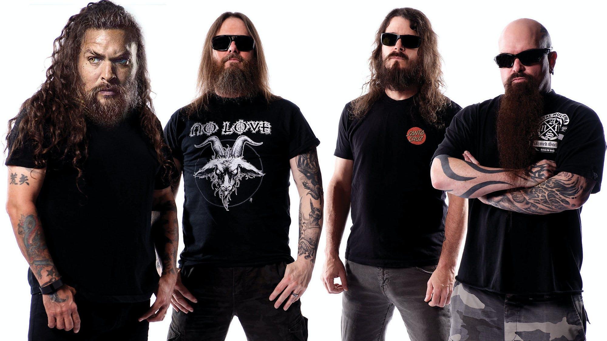 Slayer with Jason Momoa