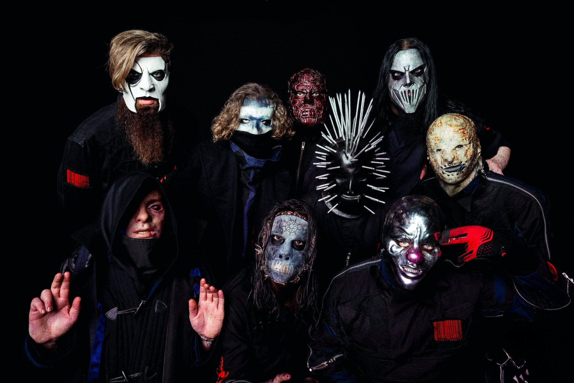 Slipknot Reveal Intimate New Mask Portraits
