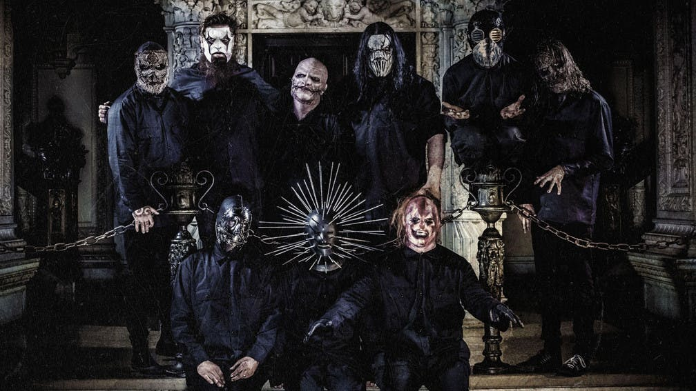 The band Slipknot in 2014