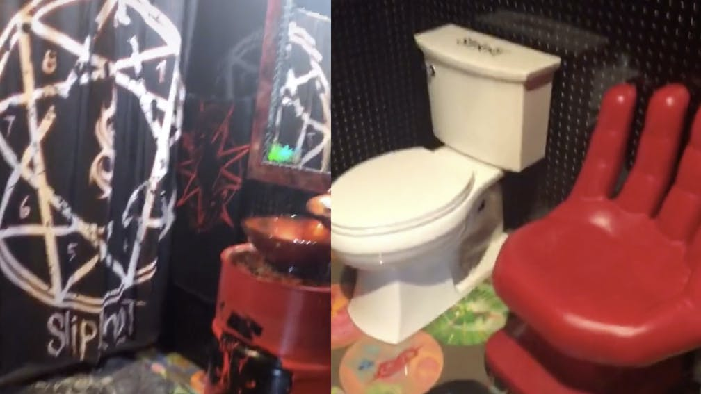 This Awesome Mum Built A Slipknot-Themed Bathroom — Kerrang!
