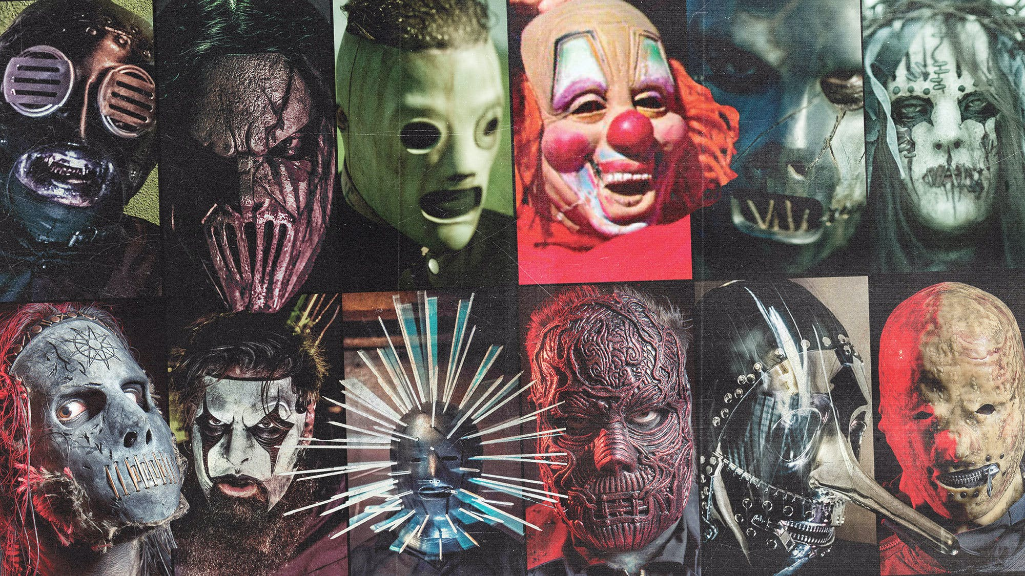 your favourite slipknot masks revealed  u2014 kerrang