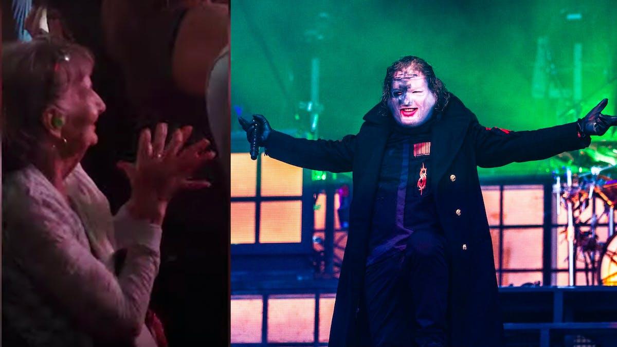 Elderly Woman Goes Viral Rocking Out At Slipknot Concert
