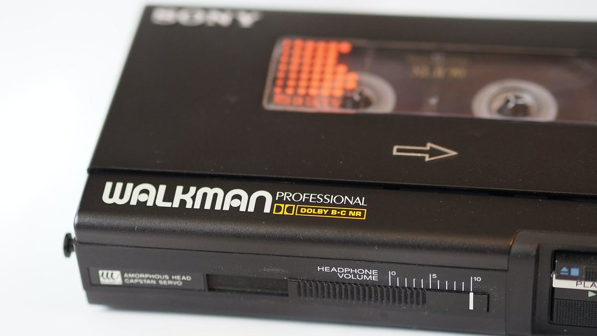 Sony Unveil New Walkman To Mark 40th Anniversary