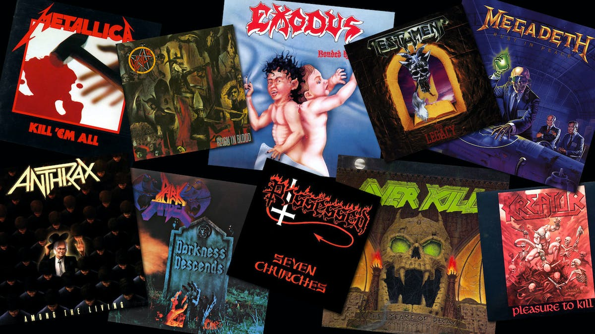 Vote For The Greatest Thrash Album Of All Time