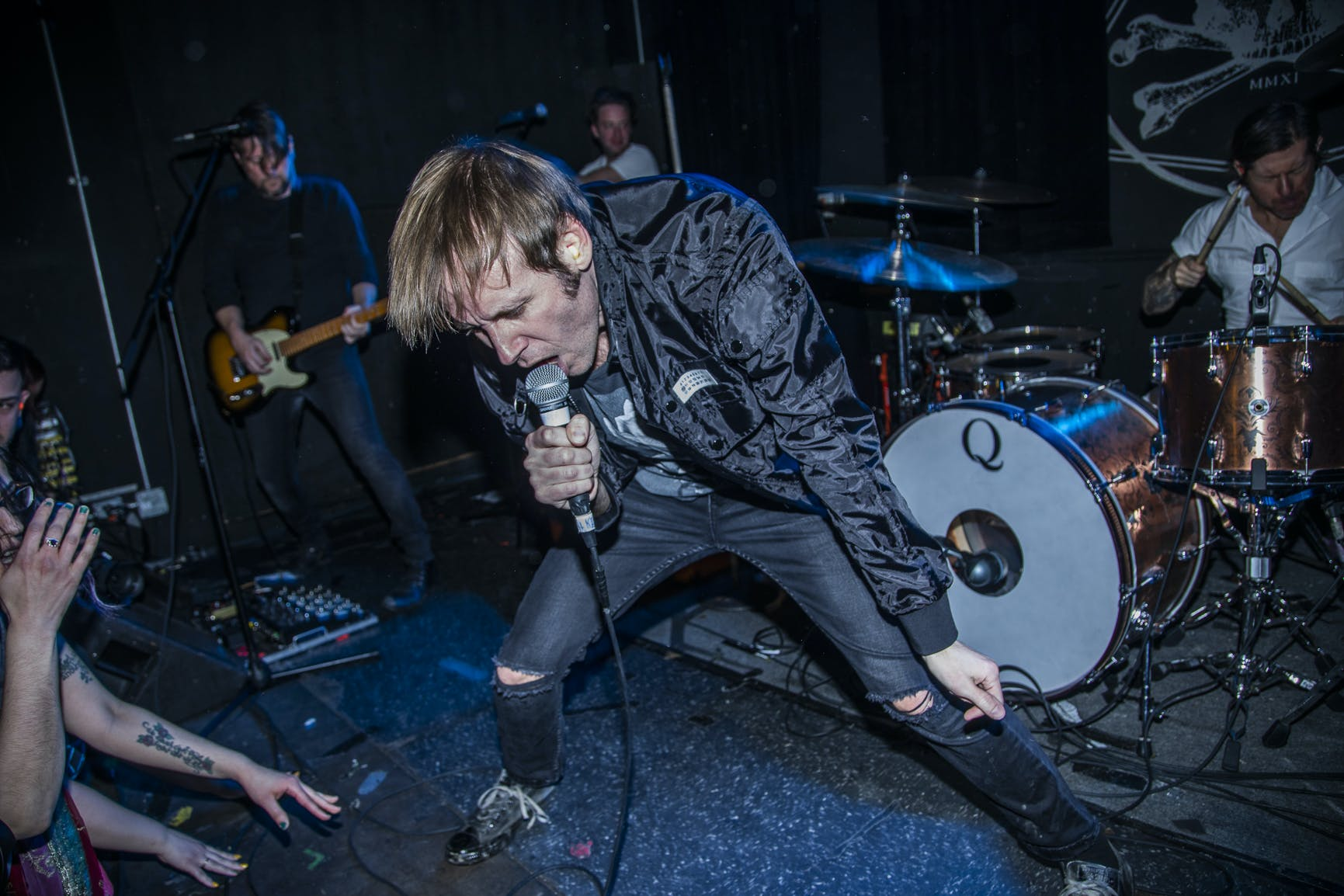 Thursday's Geoff Rickly To Open For Frank Iero On Upcoming U.S. Tour