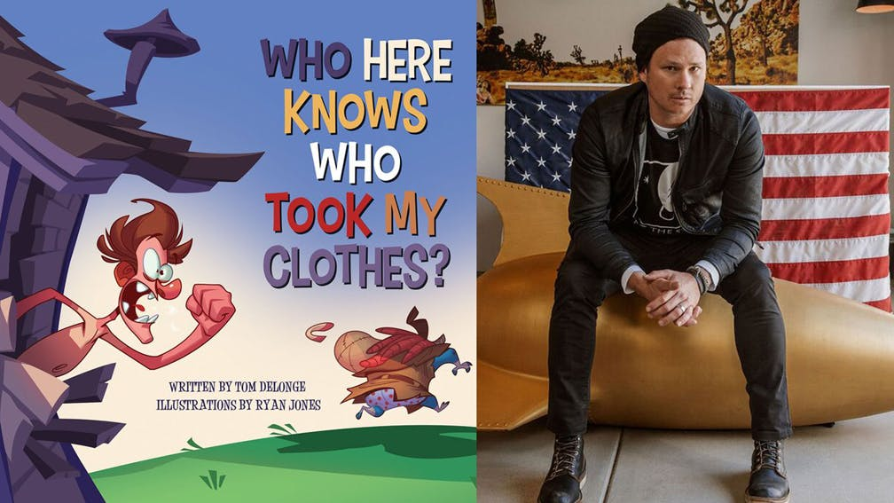 Tom DeLonge Releases Animated Version Of His Children's Book