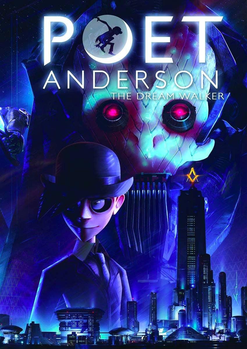 Poet Anderson: The Dream Walker comic