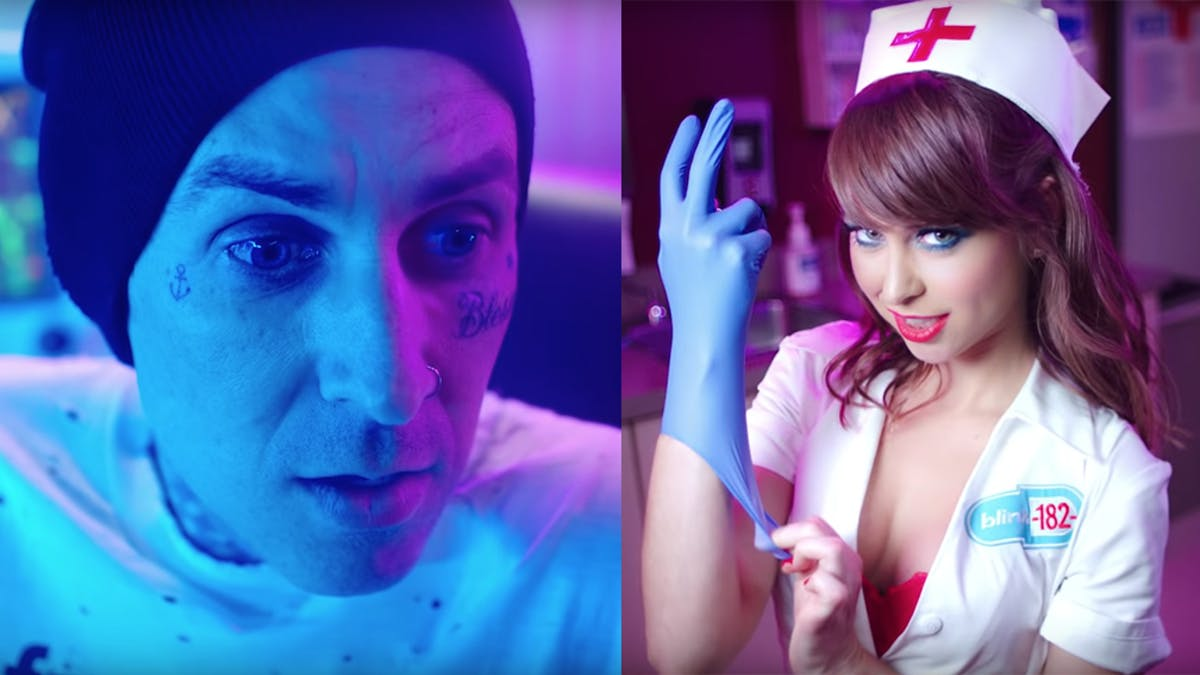 Blink-182 Release New Tour Trailer Featuring Porn Star -7084