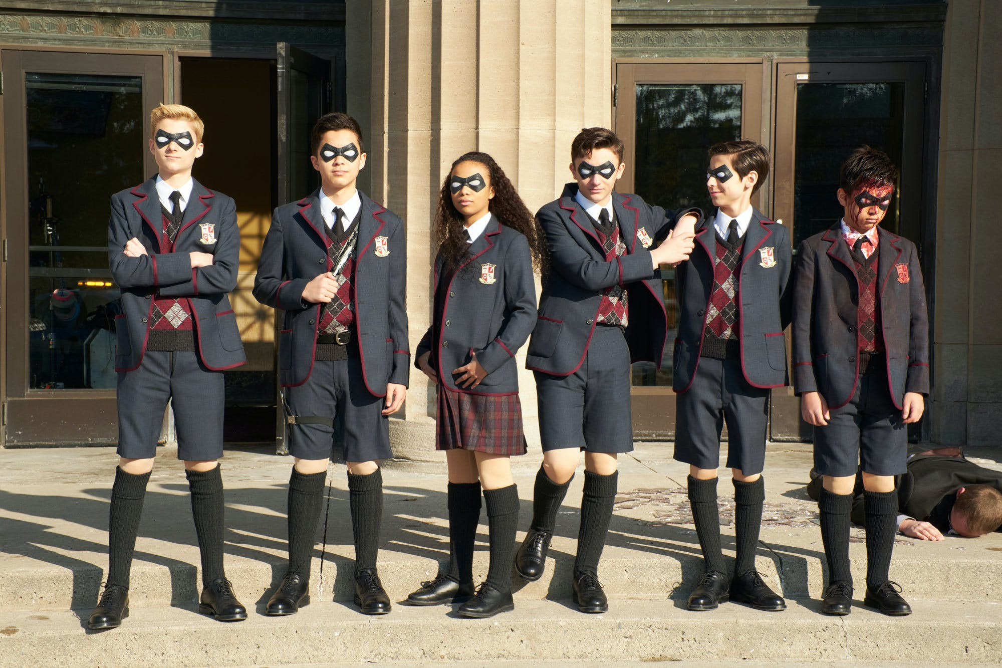Netflix Confirm Second Season Of The Umbrella Academy