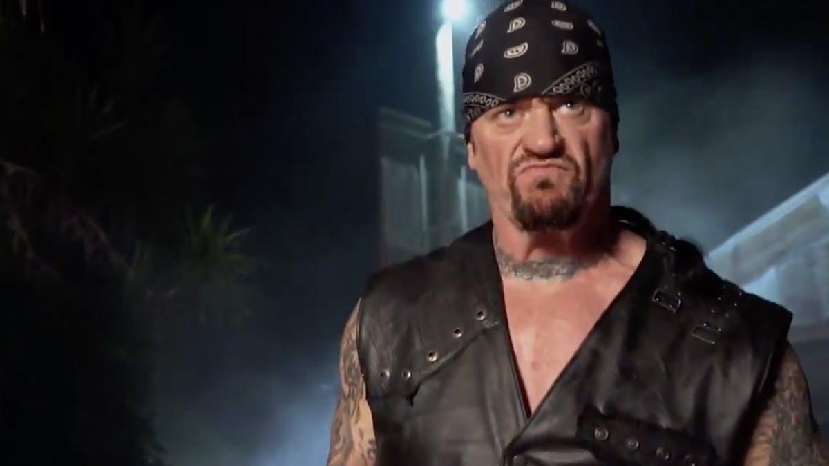 Metallica Soundtracked The Undertaker S Return To Wrestlemania This Weekend Kerrang