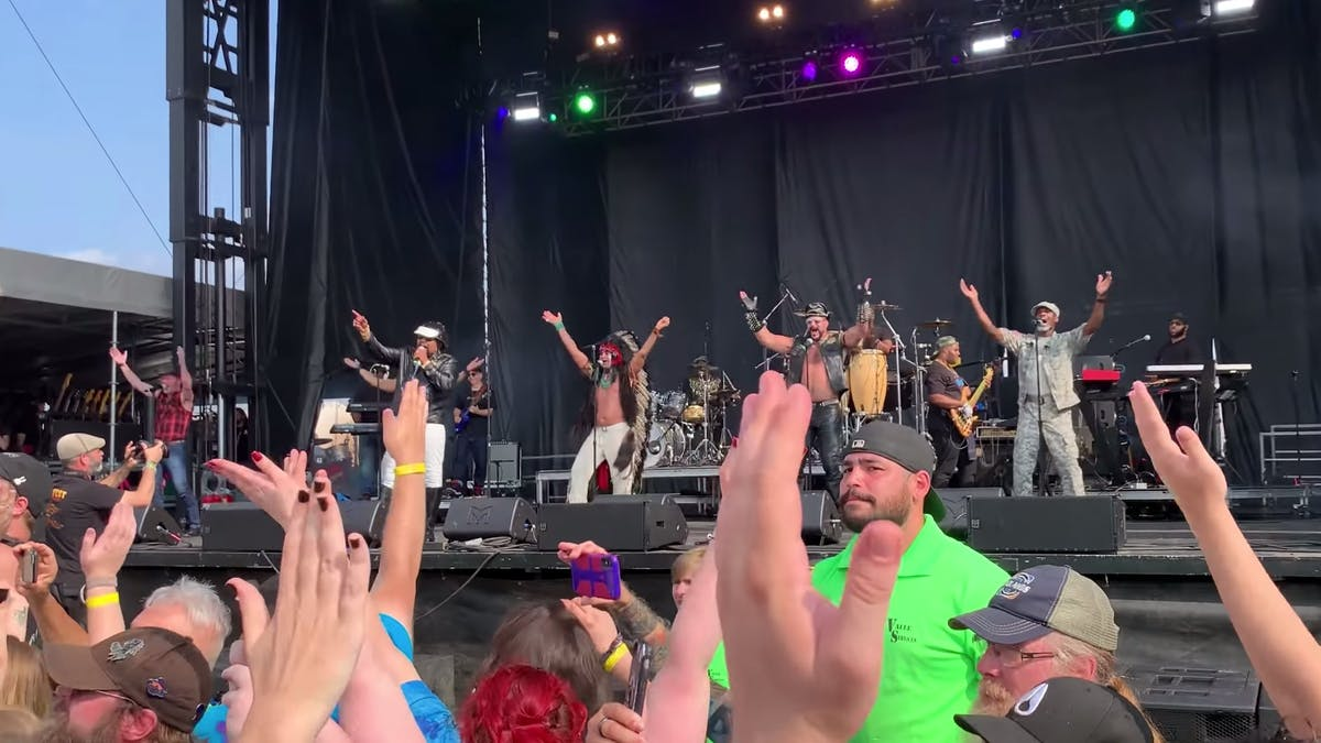 Watch The Village People Cause A Wall Of Death At Riot Fest