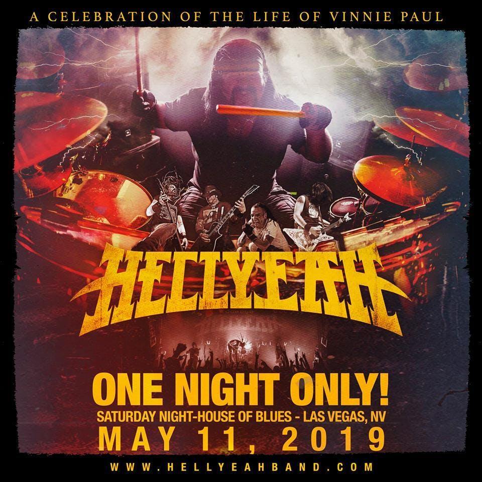 Vinnie Paul Celebration Flyer