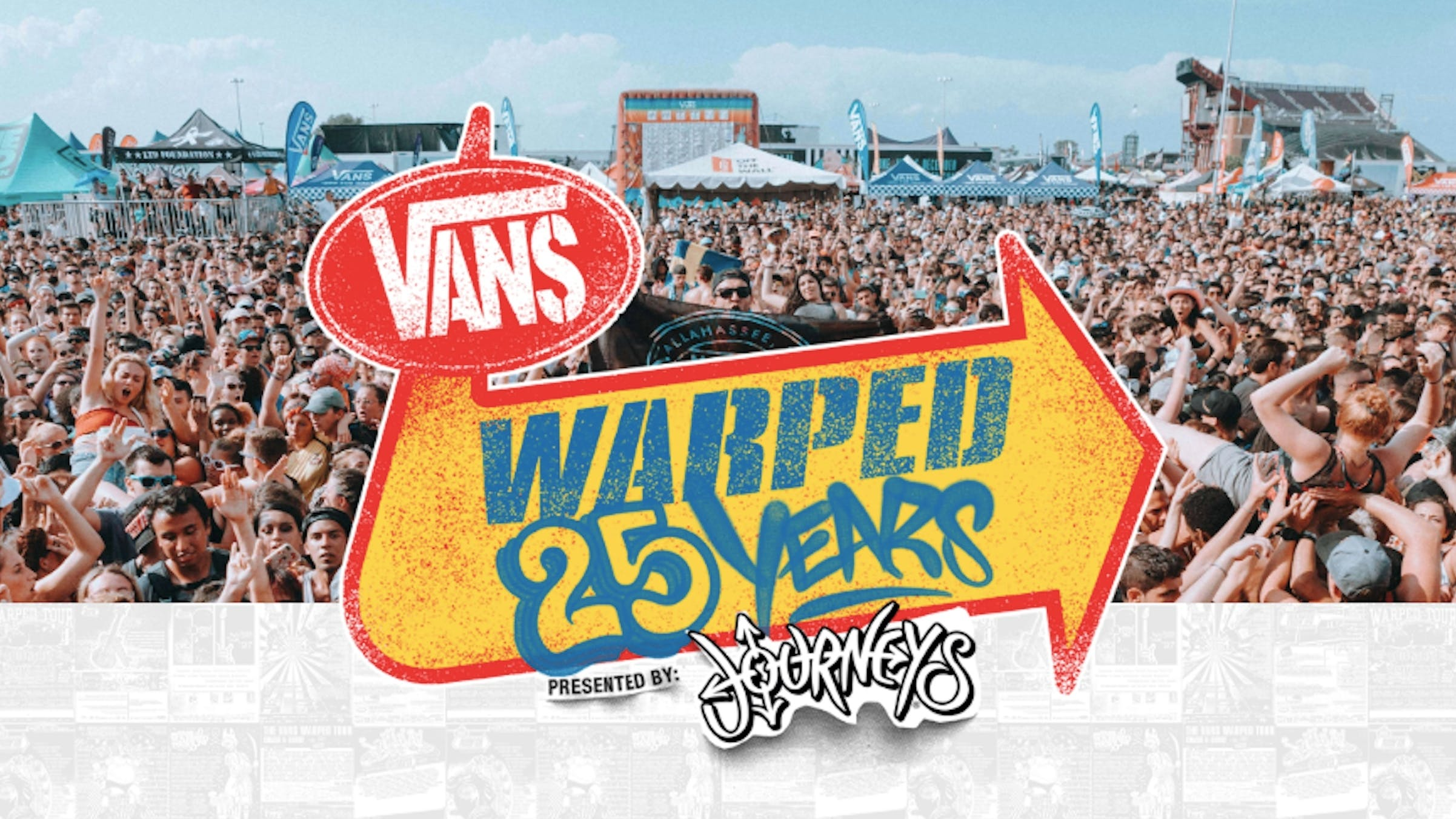 Warped Tour Announces Full Line-Up For 25th Anniversary Festivals