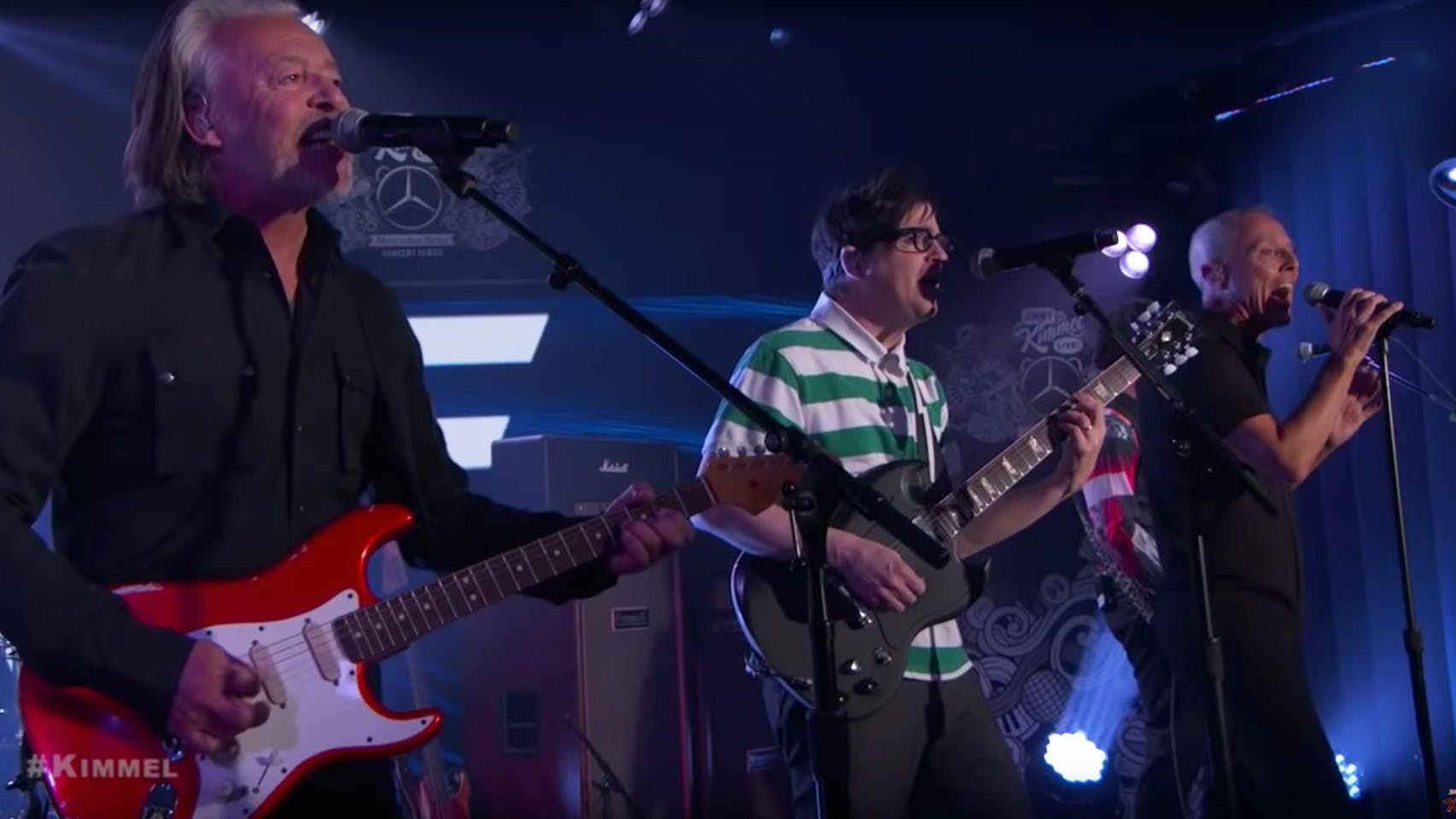 Watch Weezer Cover Tears For Fears Live On Jimmy Kimmel