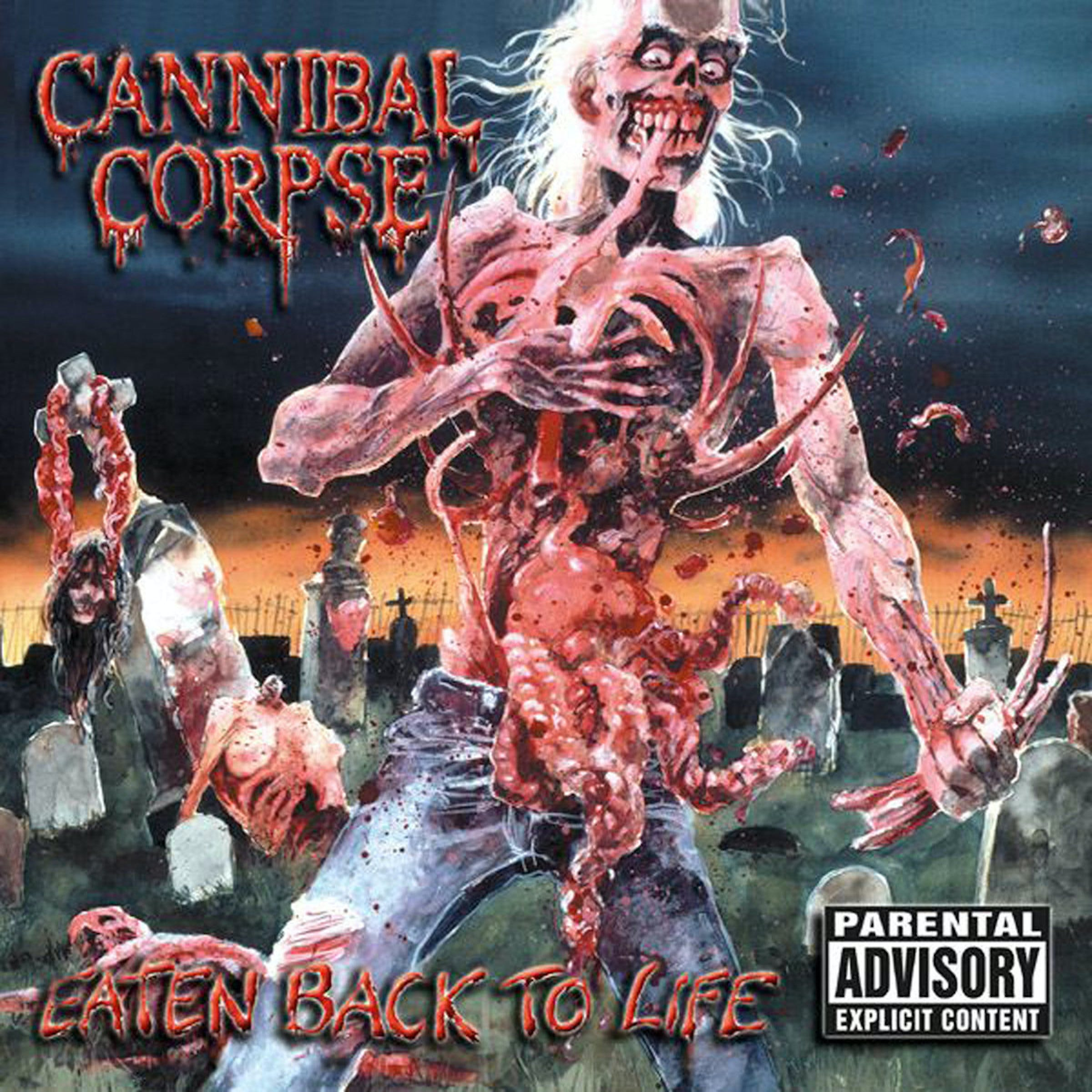 Cannibal Corpse Eaten Cover