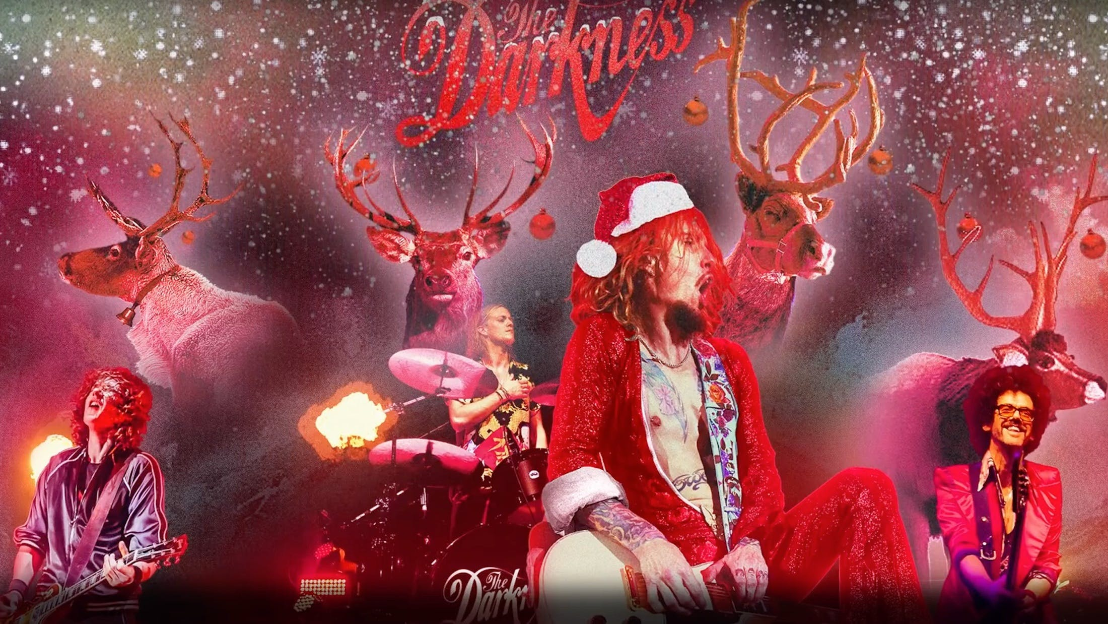 The Darkness To Perform On Christmas Day Edition Of The Great British Bake Off