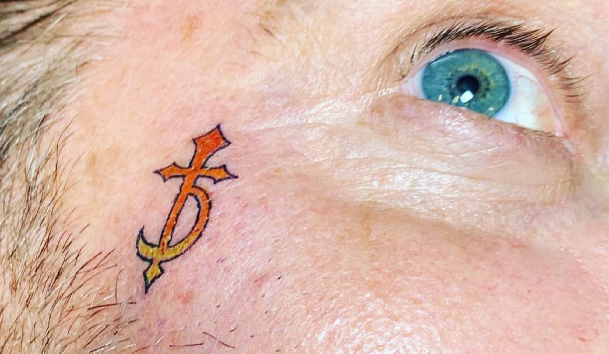 DevilDriver's Dez Fafara Adds More Tattoos To His Chin, Throat and Face