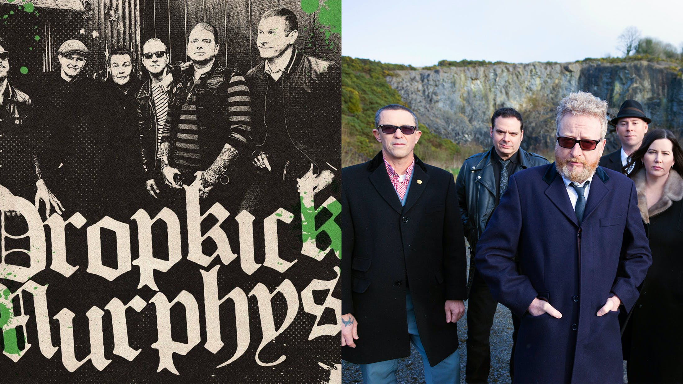 Dropkick Murphys And Flogging Molly Are Touring Together In June