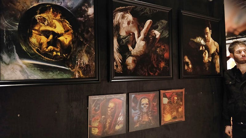 Meet Eliran Kantor: The Man Behind Modern Rock And Metal's Gnarliest Artwork