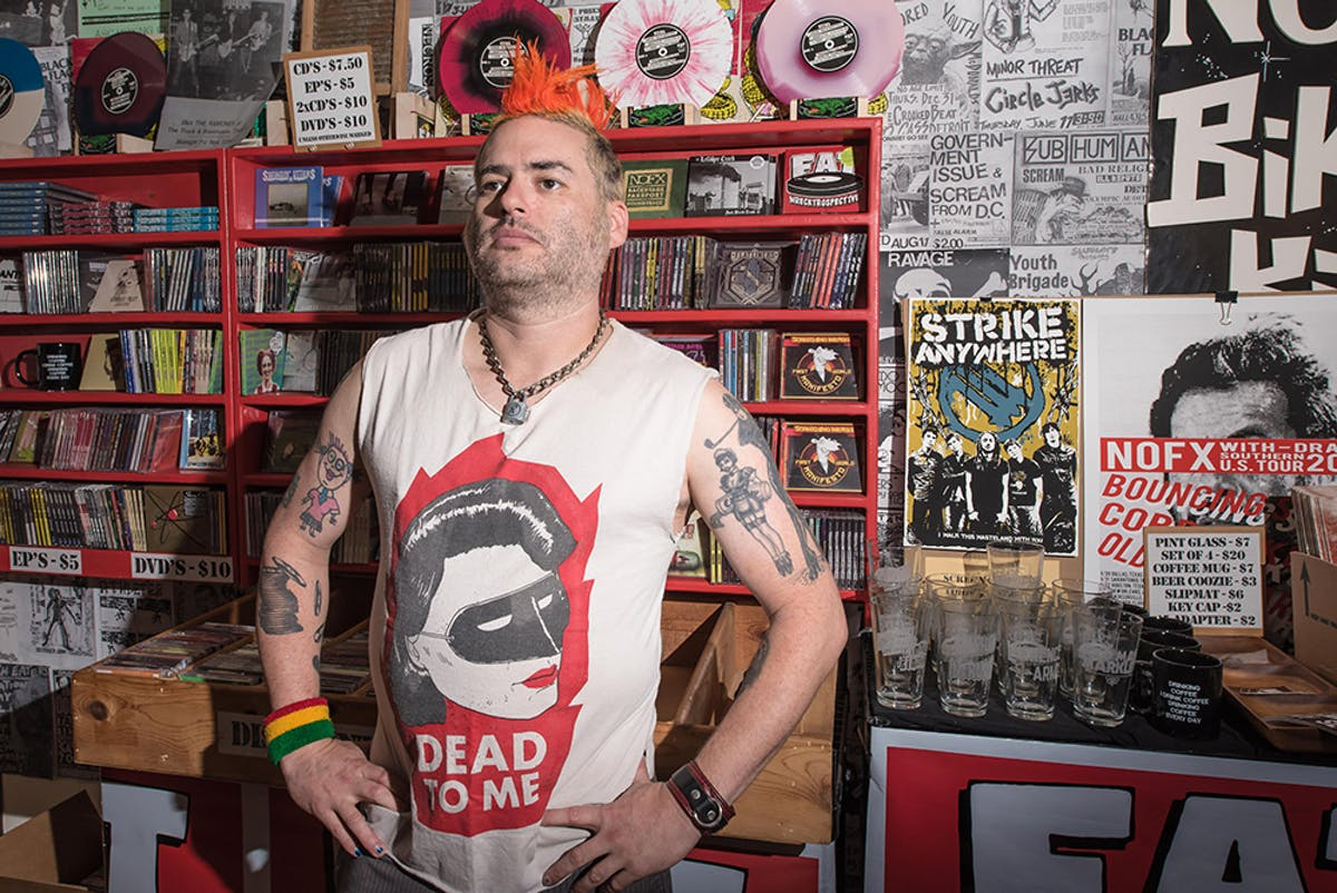 """NOFX's Fat Mike: """"This Is End-Of-The-World Shit. It's What You Get For Having A Country Of Totally Stupid People"""""""