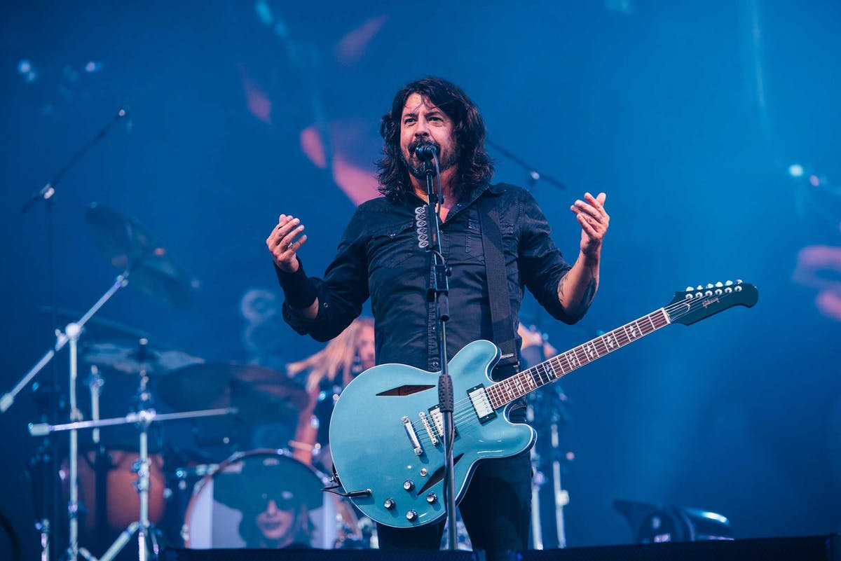 Watch This Amazing Five-Year-Old Fan Dance With Foo Fighters Onstage At His First-Ever Gig