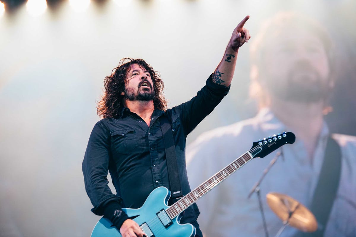 In Pictures: Foo Fighters Headline Glasgow Summer Sessions Festival