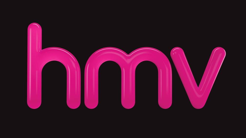 The logo for hmv