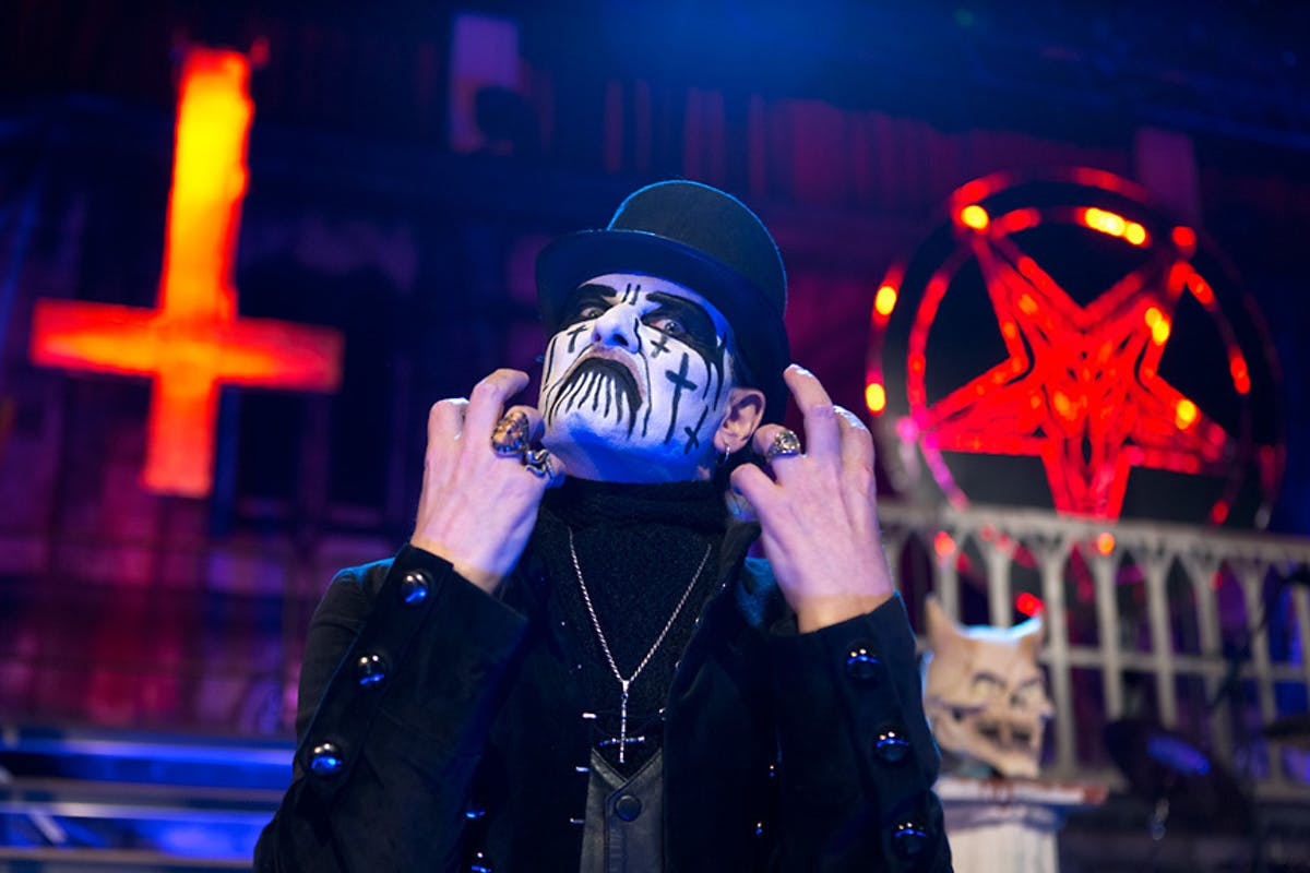 Watch King Diamond Debut A Jauntily Evil New Song Live