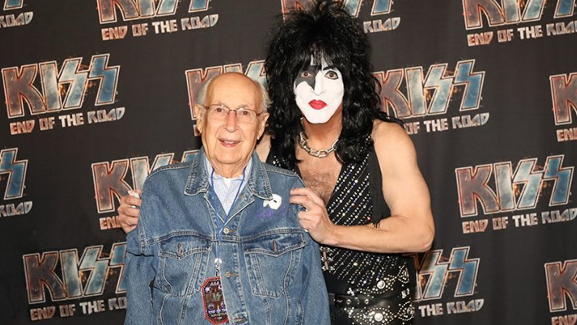 Paul Stanley And Dad