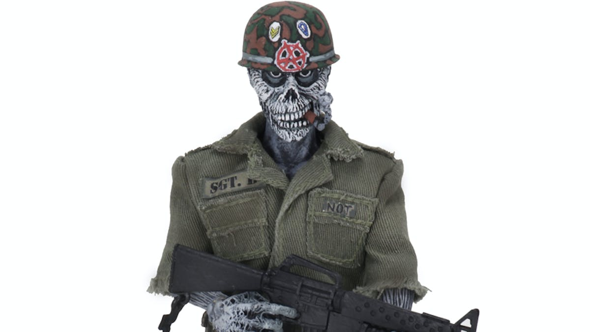 S.O.D.'s Sargent D Gets His Own Action Figure