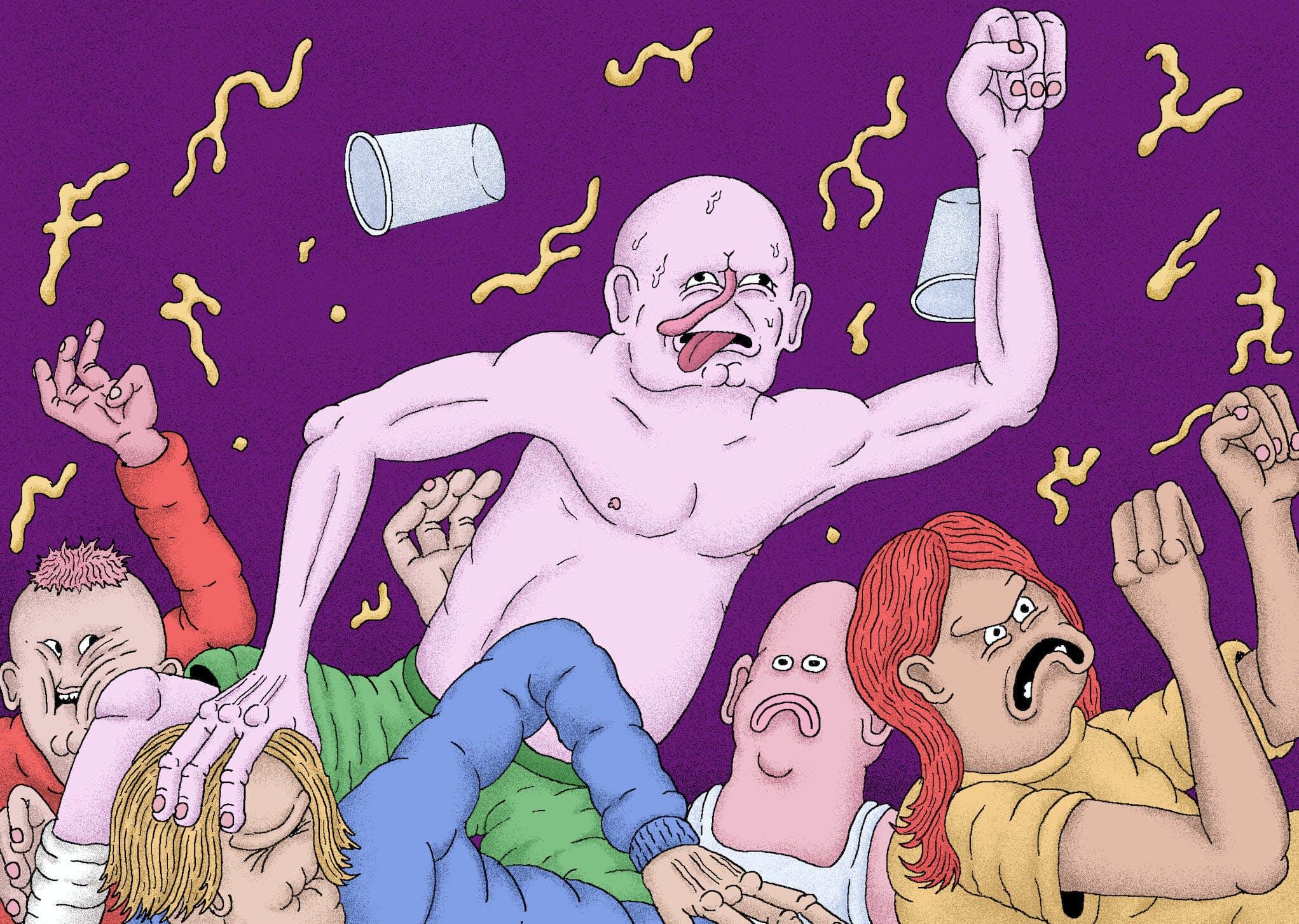 Shirtless Mosh Hardcore
