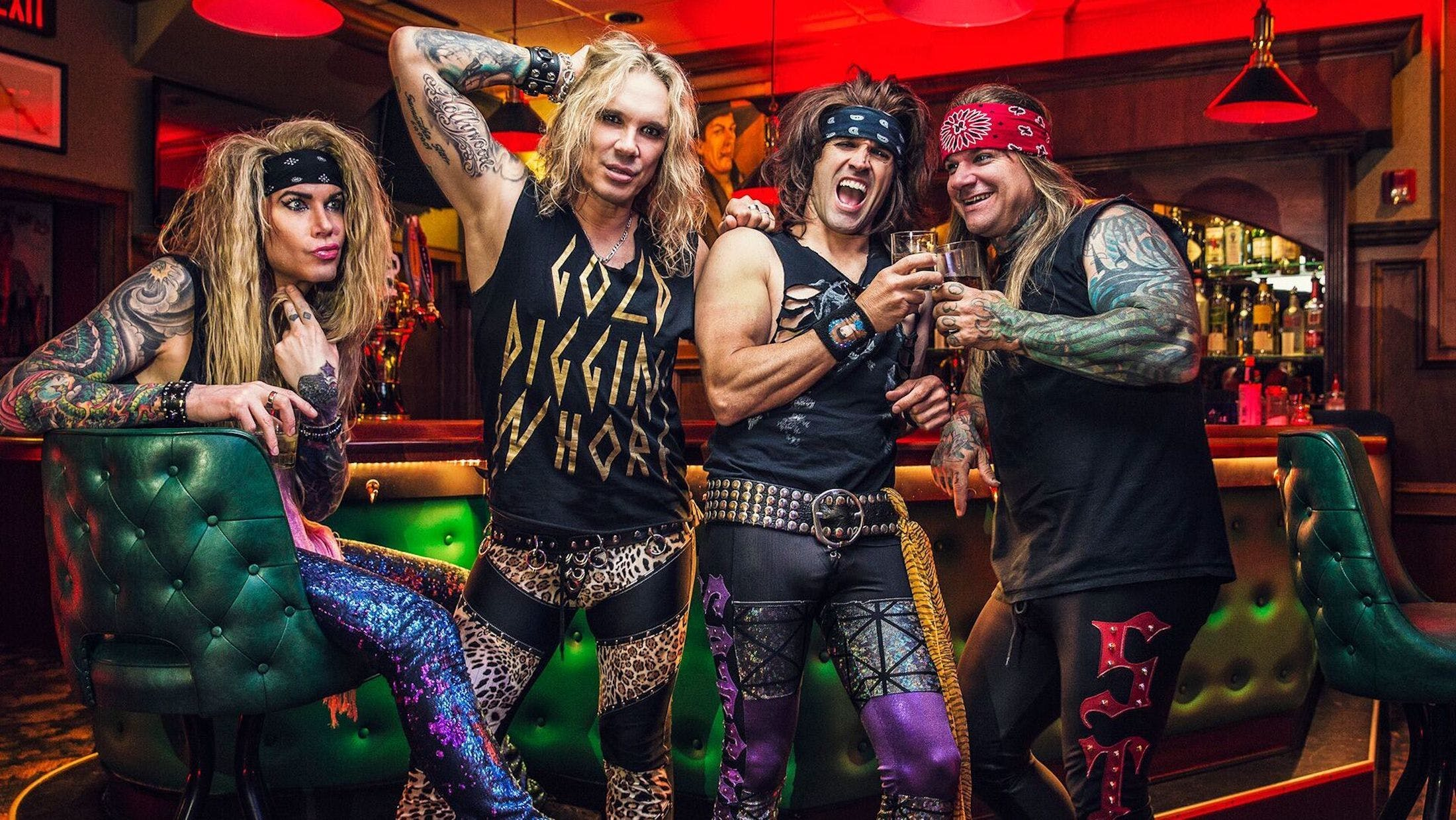 Steel Panther Bassist Pulls Out Of Tour To Enter 'Sex Rehab'