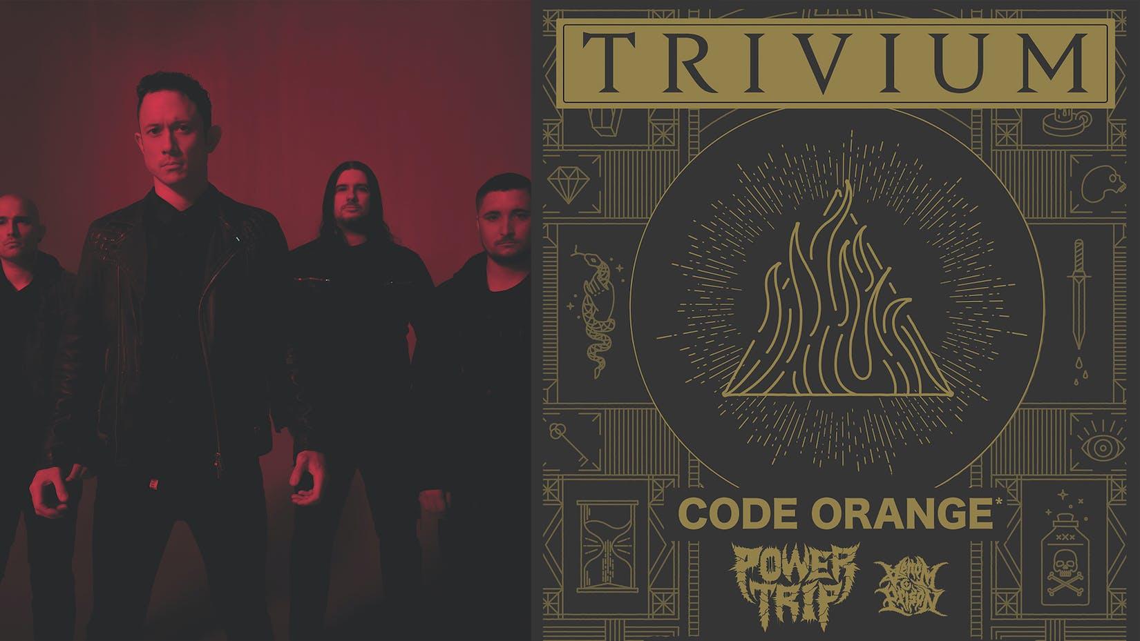 Trivium, Code Orange, Power Trip, Venom Prison To Tour The UK Together