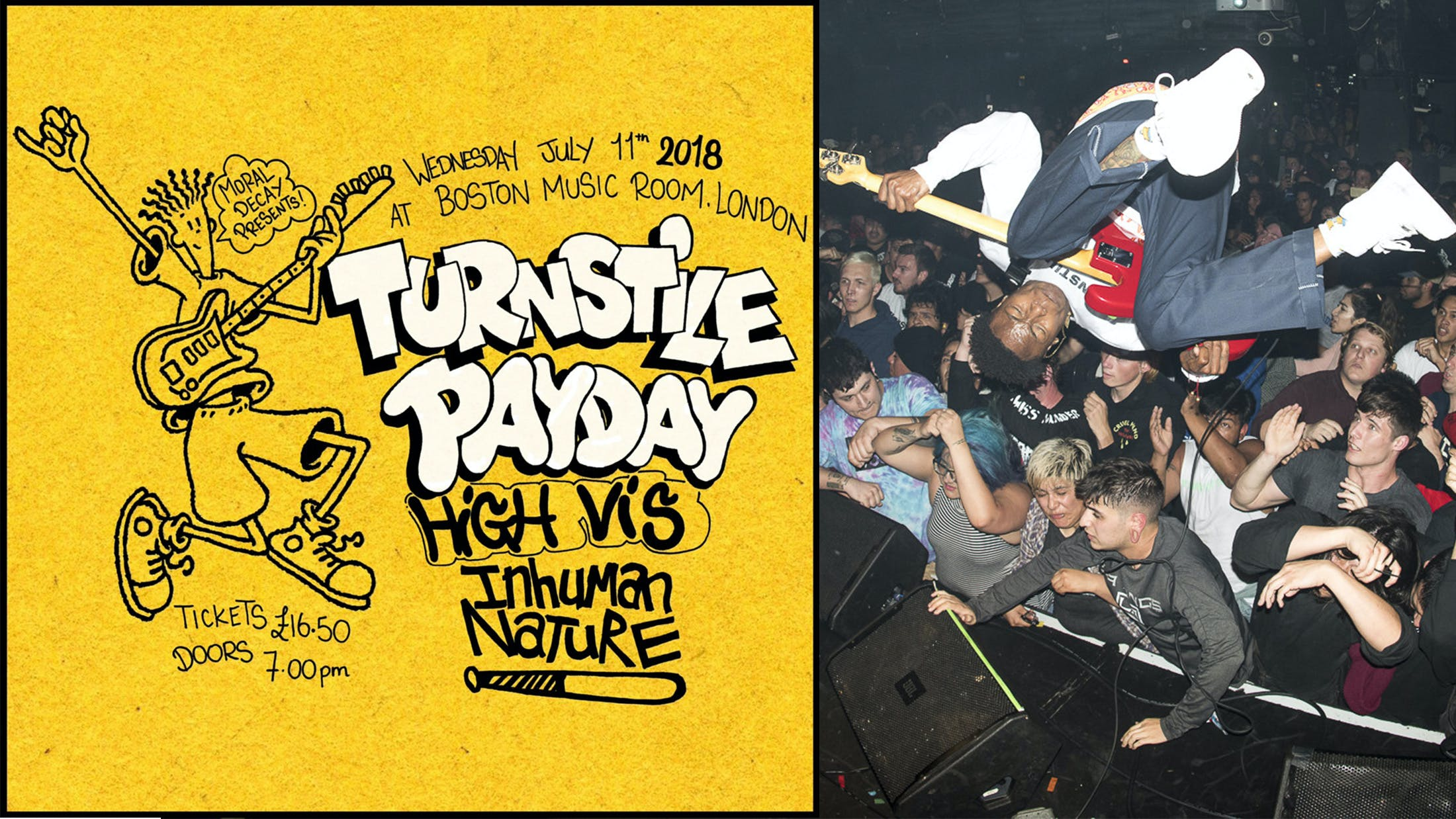 Turnstile Announce London Headline Show
