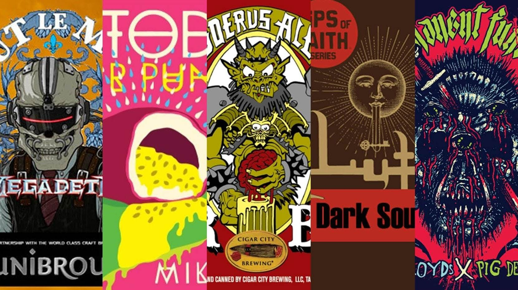 The Five Best Rock Beers On Earth